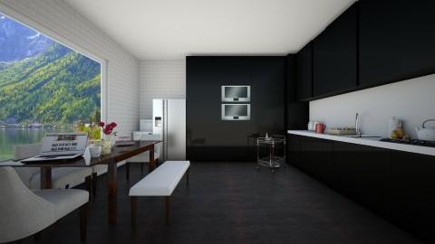 past - Kitchen - by hannanex