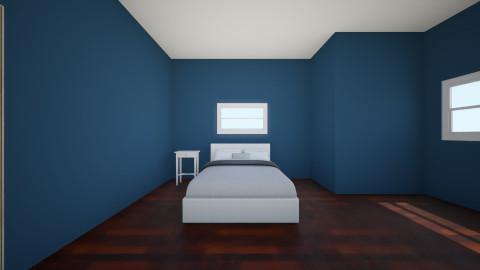 Sydney Navy room - Bedroom - by Sydney Hooyer