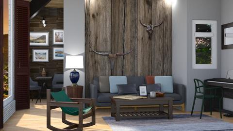 Wooden Wonder - Modern - Living room - by Jessica Fox