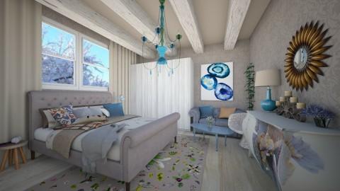 Cold days - Vintage - Bedroom - by Liu Kovac