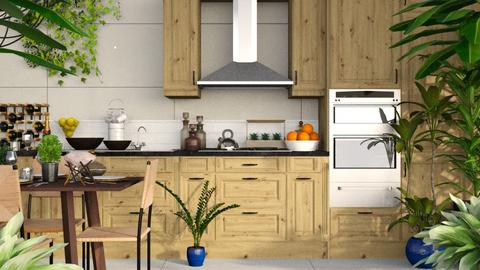 Urban Jungle Kitchen - Kitchen - by millerfam