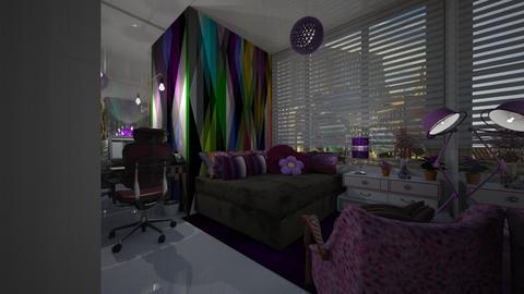 Aryel - Living room - by Maria Helena_215