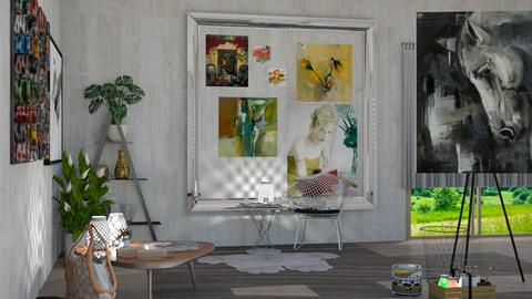 artist - Office - by Anet Aneta Kucharova