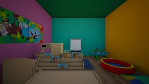 classroom - Classic - Kids room - by nittya