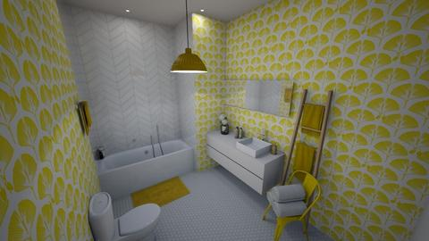 Yellow - Bathroom - by Alice Connor