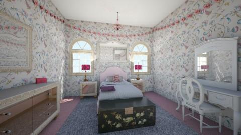 Little Girls Room - Vintage - Kids room - by emmahepburn