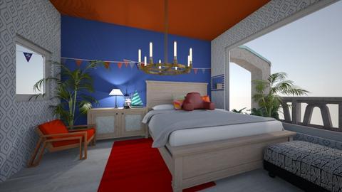 nautical beach bedroom - Modern - Bedroom - by HIHELLOHI