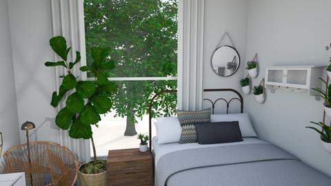 Dream Room - Minimal - Bedroom - by halseybrumitt