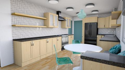 Virginia Ave - Kitchen - by IdaJo