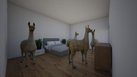 llama - Bedroom - by cnapier24