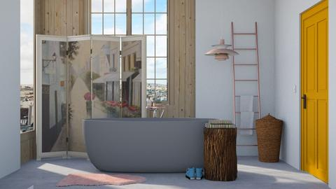 Eclectic bathroom - Eclectic - Bathroom - by HenkRetro1960