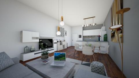 happy room 1 - Living room - by rafita