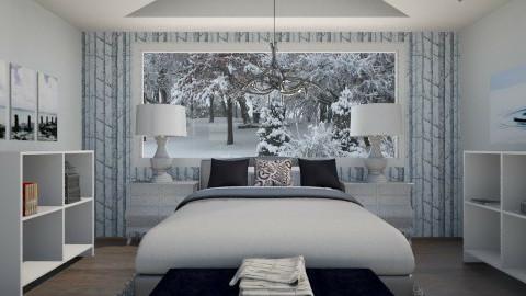 Winter Wonder - Rustic - Bedroom - by Addie Smooches
