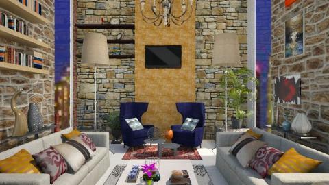 New year eve   - Living room - by aarish khan
