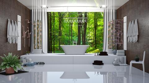 Nicoles new bathroom - Bathroom - by orandorango