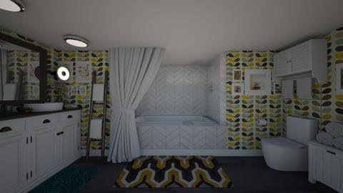 Swedish Inspired Bathroom - Minimal - Bathroom - by Jodie Scalf