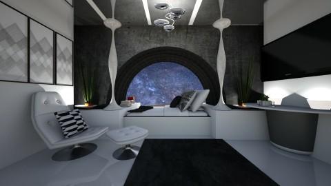 sleeping pod - by tiffmonaee