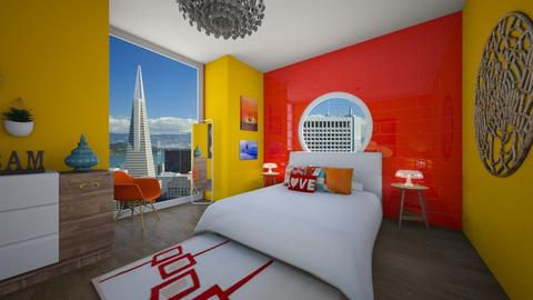 Colorful - Bedroom - by Leah_Najimy