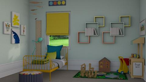 Fun Kids Room - Kids room - by Katie Whitley