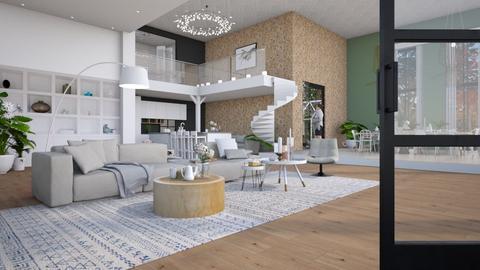 Design Interior 2 - Living room - by Gwenda van Maaren
