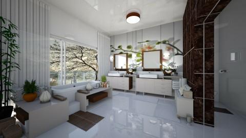 Bathroom7 - Modern - Bathroom - by ZsuzsannaCs