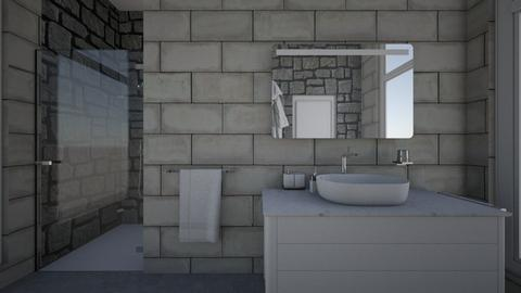 Small Bathroom - Modern - Bathroom - by XiraFizade