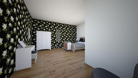slaapkamer 1e ontwerp GL - Modern - Bedroom - by Geertje00