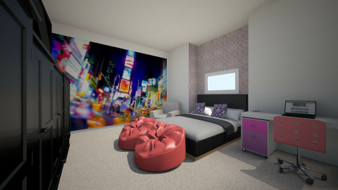 sweet bedroom - Glamour - Kids room - by LTooth