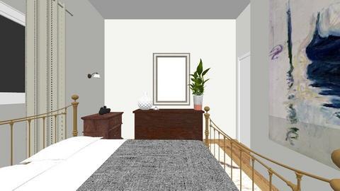 Italia Guest Bedroom_LESS - Bedroom - by ashabella