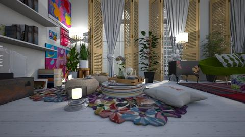 vida contemplativa - Living room - by ana111