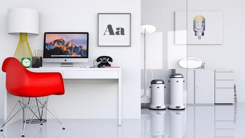 Work it - Modern - Office - by HenkRetro1960