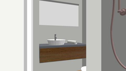 zolder_douche - Bathroom - by bertinga