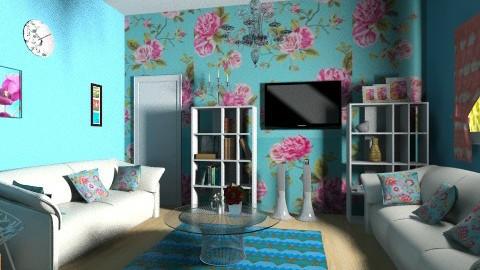 sala - Feminine - Living room - by Jen Guerra