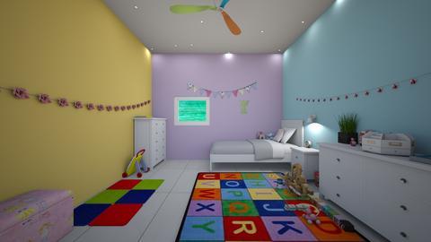 pastel play room - Modern - Kids room - by jade1111