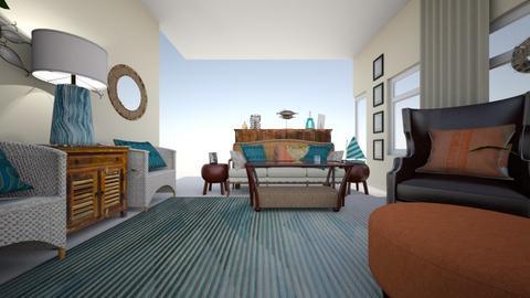 Flynn - Rustic - Living room - by Sreegan