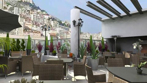 resto Marseille_CWIN - Eclectic - Garden - by TV Renders