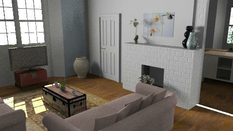 Open living and kitchen2 - Classic - Living room - by nilou