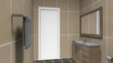 Simple - Minimal - Bathroom - by Hendry_Surya