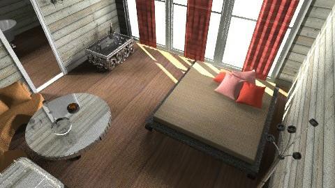 hotel room - Bedroom - by jujulianamara