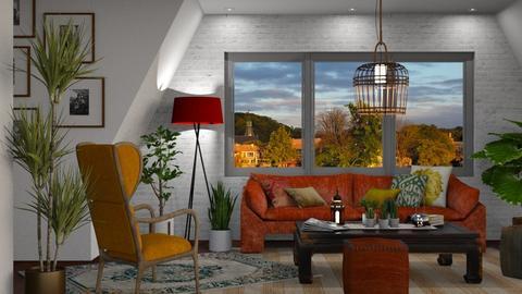 Boho Living Room - Living room - by GraceKathryn