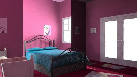 Livin' in paris - Vintage - Bedroom - by prettygurlmya
