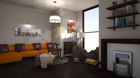 3333 - Retro - Living room - by TeodoraYord