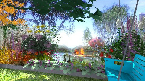 A Neighbourly View - Country - Garden - by Open Spaces