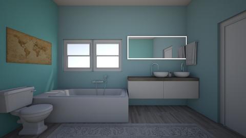 modern bathroom - Modern - Bathroom - by cocoscreation