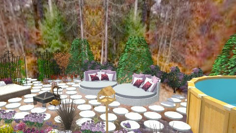 garden - Vintage - Garden - by AshiraLevana