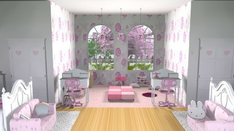 twins - Classic - Bedroom - by titania