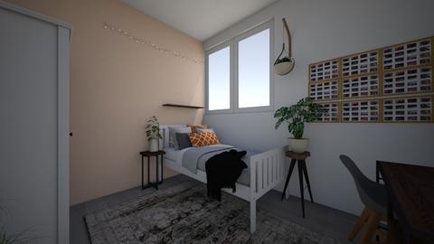 new rooooom - Bedroom - by thirzamak