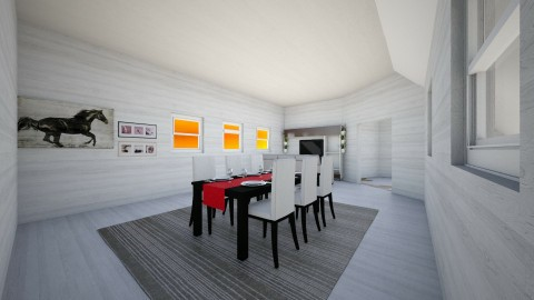 This is Livingdining room - Living room - by javi2014