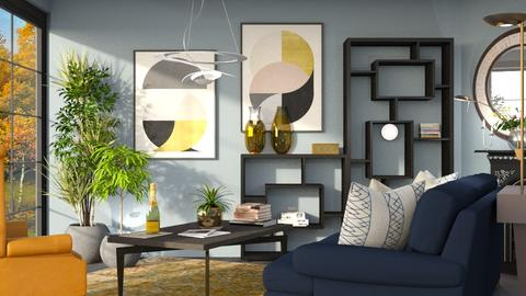 M_ Paradigm - Modern - Living room - by milyca8