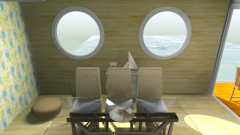 boat - Living room - by Sunshinedriver